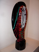 Venetian Art Glass Art Originals - Paloma Picasso by Bisazza Vetro