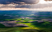 Sky High Prints - Palouse Hills Print by Niels Nielsen