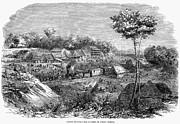 Culebra Photos - Panama Railway, 1855 by Granger