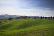 Cypress Hills Framed Prints - Panorama view over the field Framed Print by Mats Silvan