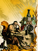 1493 Posters - Paracelsus, Swiss Polymath Poster by Science Source
