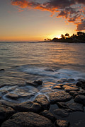Koloa Framed Prints - Paradise Sunset Framed Print by Mike  Dawson