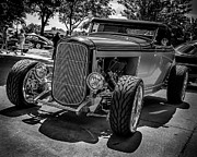 Paint Photograph Prints - Parked Classic Print by Perry Webster