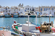 Fishing Village Metal Prints - Paros - Cyclades - Greece Metal Print by Joana Kruse