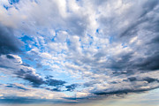 Sky And Clouds - Passing On by Anthony Rego