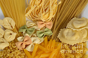 Assorted Posters - Pasta Poster by Photo Researchers, Inc.