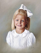 Lisa  Ober - Pastel Portrait of Girl