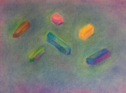 Broken Pastels - Pastels by Elizabeth Sullivan