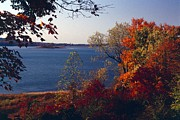 Indiana Autumn Prints - Patoka Lake - Indiana Print by Jack R Brock