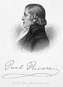 Saint Julien Posters - Paul Revere (1735-1818) Poster by Granger