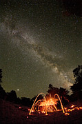 Astral Photo Originals - Peace of the Milky Way by Lon Lovett