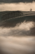 Cloud Inversion Framed Prints - Peak District Landscape Framed Print by Andy Astbury