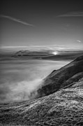 Cloud Inversion Prints - Peak District Sunrise Print by Andy Astbury