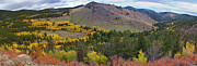 Autumn Photography Prints Posters - Peak To Peak Highway Boulder County Colorado Autumn View Poster by James Bo Insogna