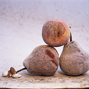 Foodstuffs Prints - Pears Print by Bernard Jaubert