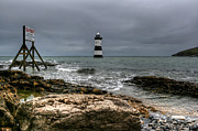 Puffin Photo Posters - Penmon Point Poster by Adrian Evans