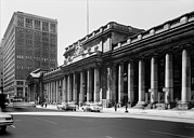 1960s Candids Metal Prints - Pennsylvania Station, Exterior, New Metal Print by Everett