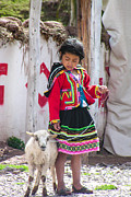 Les Abeyta - Peruvian Girl and her...