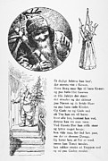 Father Christmas Prints - PETERS JUL, c1870 Print by Granger