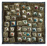 Featured Tapestries - Textiles Originals - Petit Fours Tray 2 by Lorraine Roy