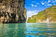 Glassy Prints - Phang Nga Bay Print by Bill Brennan - Printscapes