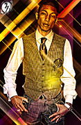 Hdr Photo Prints - Pharrell Print by The DigArtisT