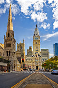 William Penn Photos - Philadelphia City Hall  by Susan Candelario