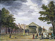 American City Prints - Philadelphia Market, 1799 Print by Granger