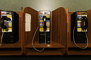 Phones Photos - Phone Booths by Will & Deni McIntyre