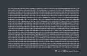 Text Art Art - Pi to 2198 decimal places by Michael Tompsett