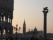 Piazetta. Venice Print by Bernard Jaubert