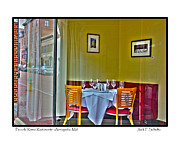 Maryland Wine Framed Prints - Piccola Roma Ristorante Framed Print by Jack Schultz