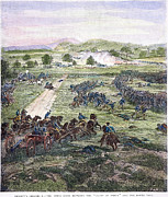 Cemetery Ridge Posters - Picketts Charge, 1863 Poster by Granger