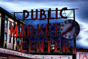 Pike Place Art - Pike Place Market by David Patterson