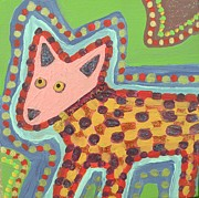 Pride Paintings - Pink Chihuahua  by Alexandra Brisson