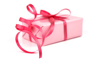 Giving Photos - Pink gift by Blink Images