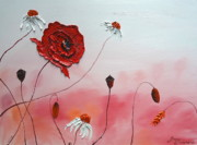 James Dunbar - Pink Sky Red Poppies 7