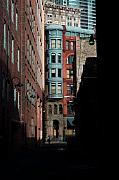 Cityscape Photography - Pioneer Square Alleyway by David Patterson