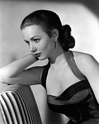 1950s Portraits Prints - Piper Laurie, 1954 Print by Everett
