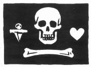 Bonnet Photos - Pirates: Jolly Roger Flag by Granger