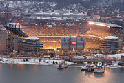 Pnc Park Framed Prints - Pittsburgh 4 Framed Print by Emmanuel Panagiotakis