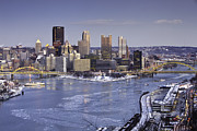 Pnc Framed Prints - Pittsburgh 5 Framed Print by Emmanuel Panagiotakis
