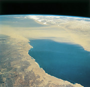 Sea Photography Photos - Planet Earth Viewed From Space by Stockbyte