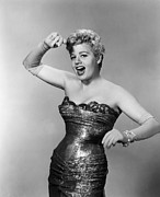 Waspwaist Framed Prints - Playgirl, Shelley Winters, 1954 Framed Print by Everett