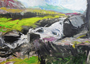 Harry Robertson - Plein air in Snowdonia