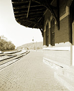 Train Tracks Photo Originals - Point of Rocks by Jan Faul