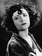 Curly Hair Framed Prints - Pola Negri, Ca. Mid-1920s Framed Print by Everett