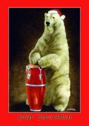 Drums Paintings - Polar Percussion... by Will Bullas