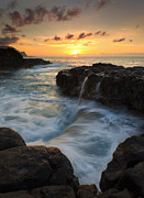 North Coast Framed Prints - Pools of Paradise Framed Print by Mike  Dawson
