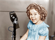 Ev-in Art - Poor Little Rich Girl, Shirley Temple by Everett